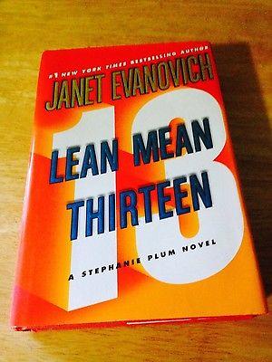 Janet Evanovich Hardcover Novel Lean Mean Thirteen