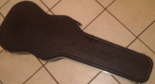 Peavey EVH Wolfgang original molded guitar hard case black