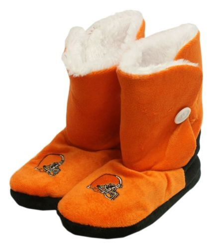 Cleveland Browns Slippers - Womens Boot