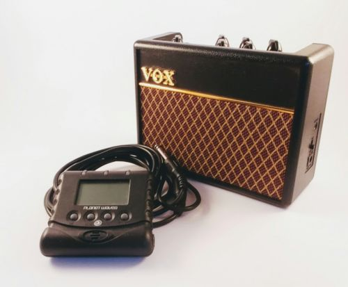 Vox AC1 Rhythm VOX Bass Mini Amplifier with Guitar Tuner and Amp Cord (length)