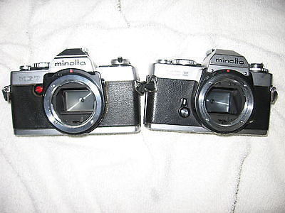 MINOLTA XD-5 & MINOLTA XG-7 CAMERAS (YES 2 OF THEM)