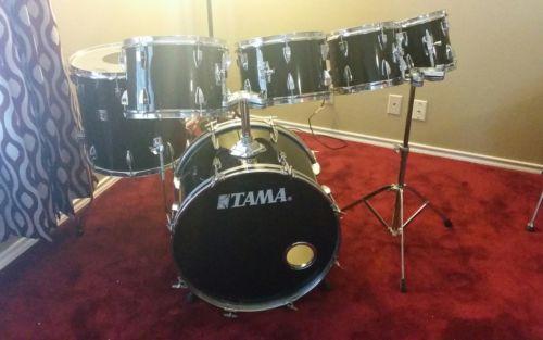 Vintage MIJ Tama Swingstar 6 pc Drum Kit Set 22,16,13,12,10,8 RED T B Excellent!