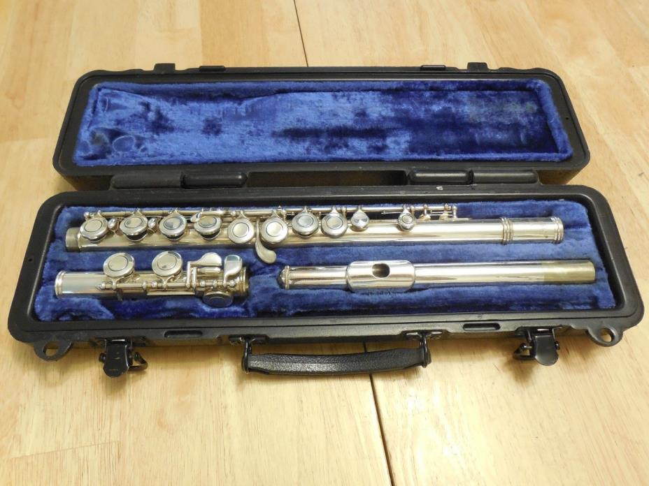 Selmer USA FL302 Student Silver Plated Flute C Foot