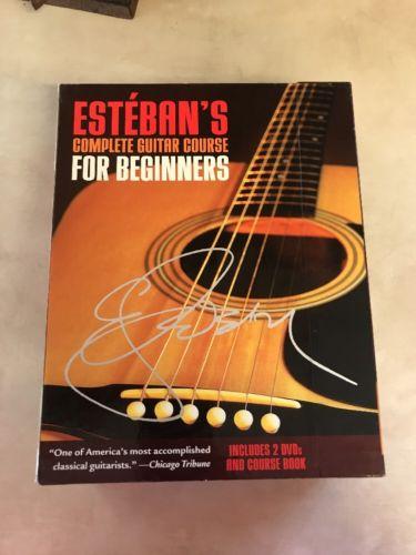 Esteban's Complete Guitar Course for Beginners by Esteban 2 DVDs & Course Book