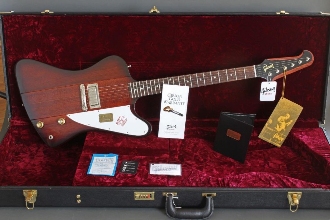 2015 Gibson Custom 1963 Firebird I Vintage Sunburst LTD Run VOS Worldwide Ship