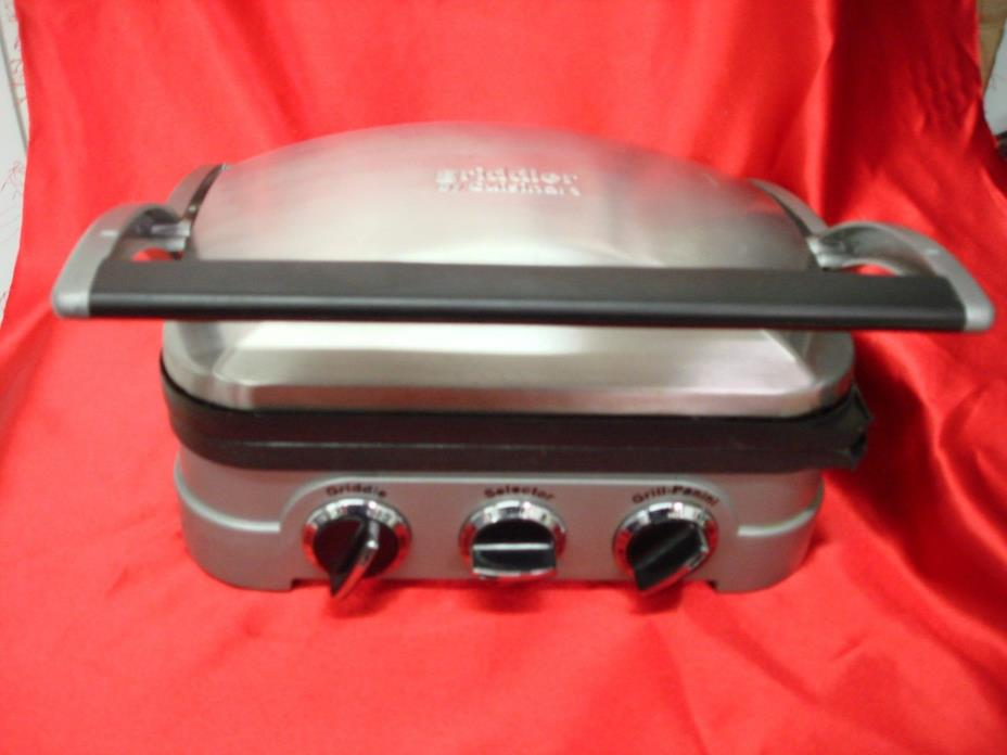 Cuisinart Gr-4N Griddler Grill Panini Sandwich Press