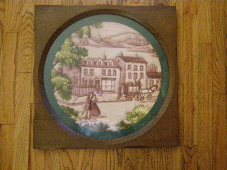 Original Dimensional by Berte, 3d Embroidery, Wood Frame