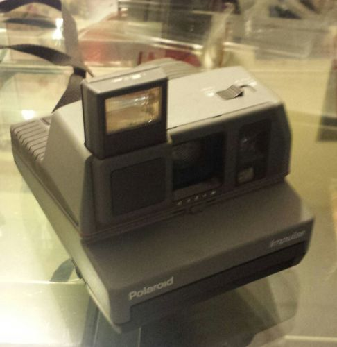 Polaroid Impulse Instant Film Camera With Strap Pop Up Flash