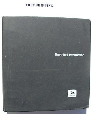 John Deere 9900 and 9910 Cotton Picker Service (Shop) Manual TM1105 Aug 81