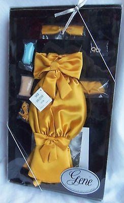 Gene Doll GOLD SENSATION Evening Gown MIB Ashton Drake