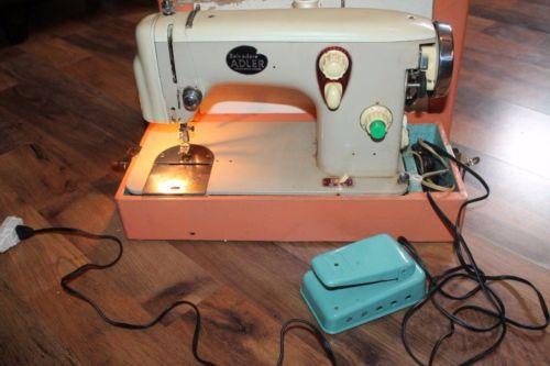 Vintage Belvedere Adler Sewing Machine + Foot Pedal
