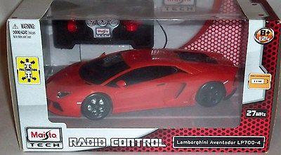 Maisto Tech Radio Control Red Lamborghini LP700-4 1:24 Remote  Vehicle Car