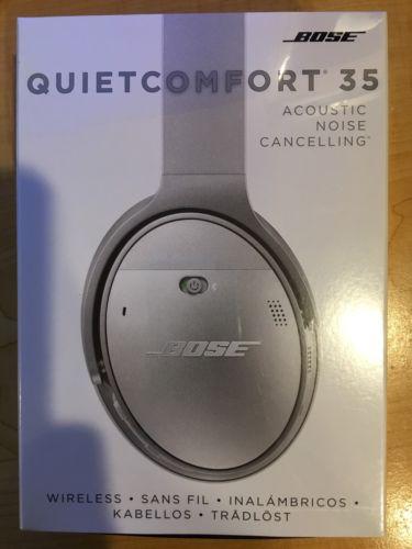 Bose QuietComfort 35 Silver Headband Headsets