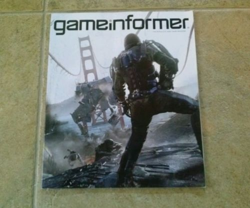 Game Informer magazine - Call of Duty Advanced Warfare - June 2014 #254