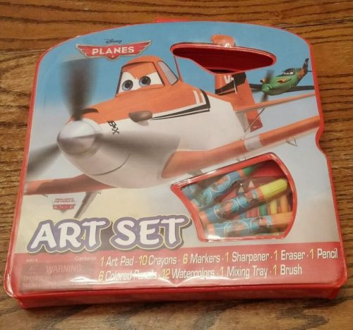 Disney Cars PLANES Art Activity Set NEW IN ORIGINAL BOX ~FREE SHIPPING~