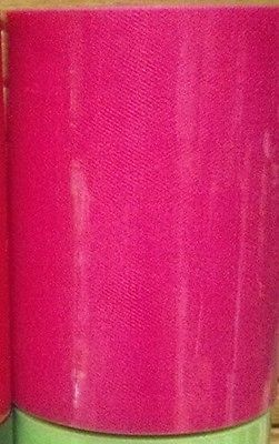 Hot Pink Tulle SPOOL - 100Yards