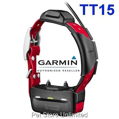 Garmin TT15 Tracking Collar Dog Device GPS 010-01041-80 Alpha 100 Track Train