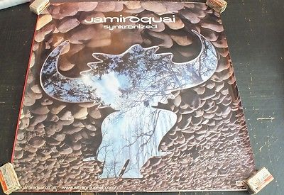 Jamiroquai Synkronized Poster 1999 Funk, Acid Jazz