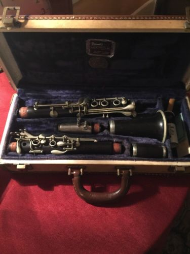 B & J Clarinet from the 1950's Coudet Martin Freres Wooden