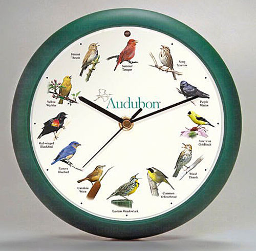WALL CLOCKS - SINGING BIRDS WALL CLOCK - 8