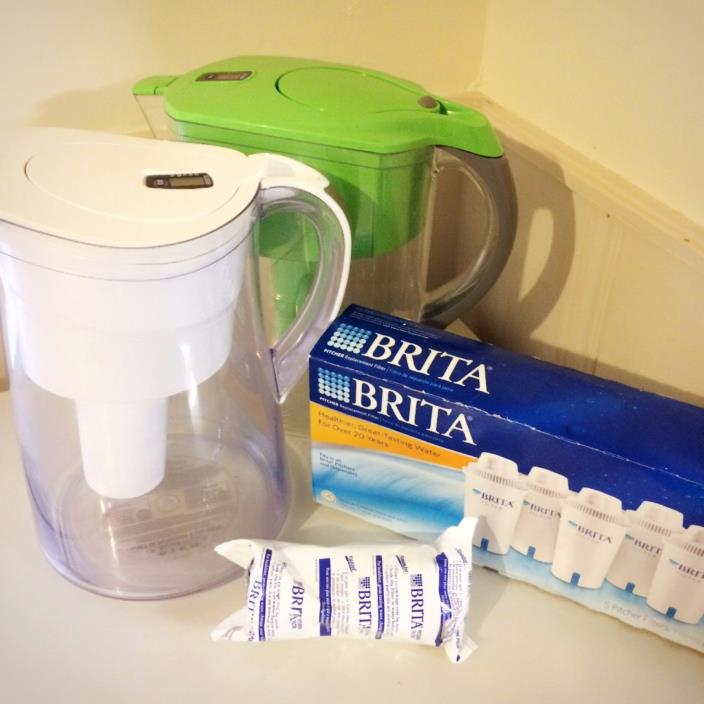 BRITA Water Pitcher Set with Filters