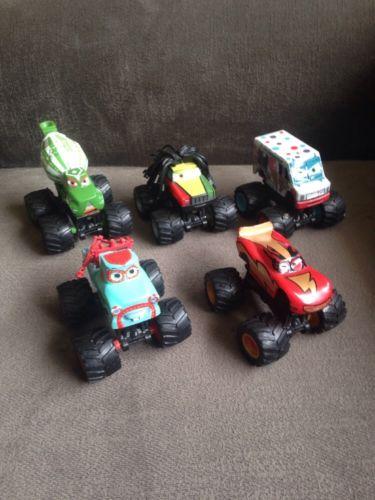 Disney Pixar Cars Lot of 5 Monster Truck Vehicles