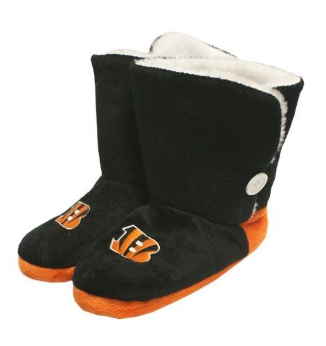 Cincinnati Bengals Slippers - Womens Boot