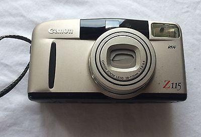 Vintage Canon Z-115 35MM Film Camera (SE)