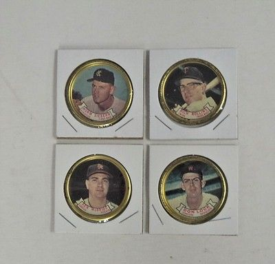 1964 Topps Coin #51 Rich Rollins Twins VG/EX