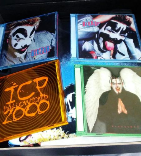 Hallowicked Box set and All access pass Insane clown posse Twiztid ICP