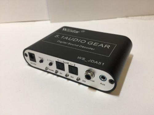 Digital Audio Surround Sound Decoder For Amp Receiver Home Theater System