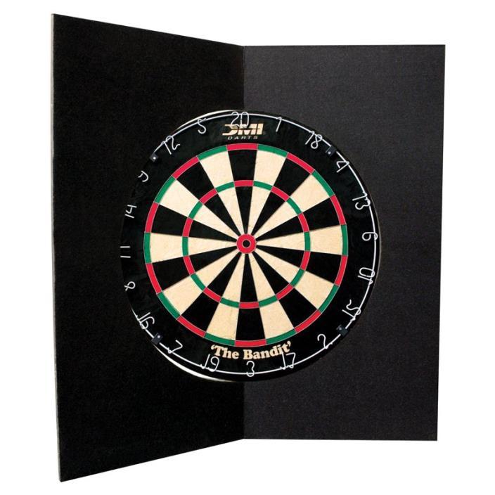 DMI Folding Dart Board Backboard, Black