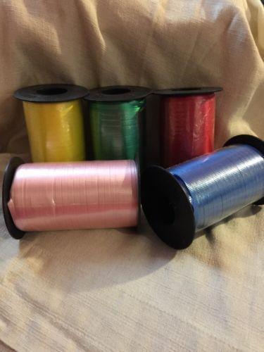Berwick Curling Ribbon 5 Rolls 500 YDS Each Roll