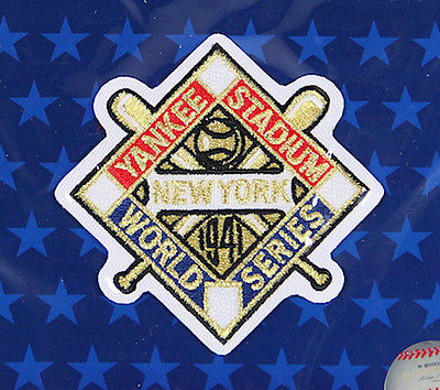 1941 NEW YORK YANKEES Major League Baseball WORLD SERIES PATCH ~ NEW ~ FREE S/H