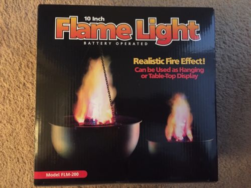 Fortune Products FLM-200 Cauldron Flame Light 9.75