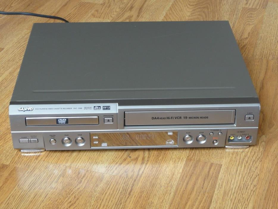 Sanyo DVD VCR Combo Player DVC-2500, Serviced
