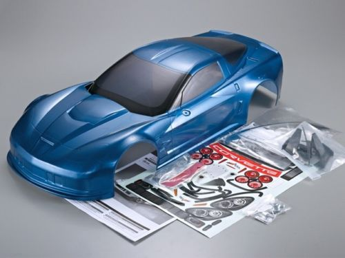 Killerbody 1/7 GT2 Corvette Blue ( Hard To Get) XO-1 Body