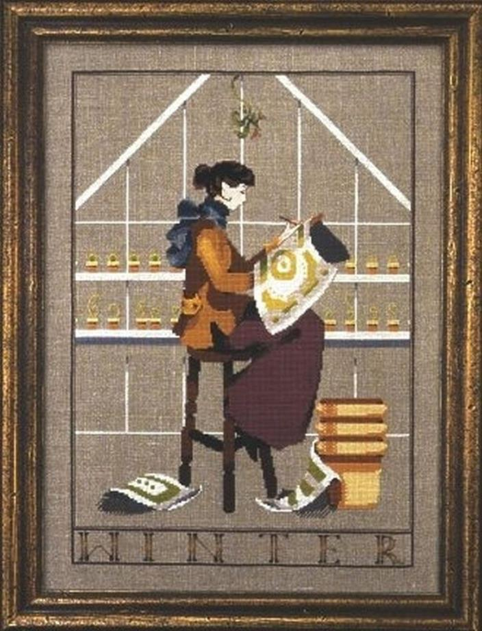 MIRABILIA: WINTER IN MY GARDEN CROSS STITCH PATTERN