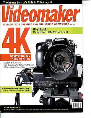 Videomaker Magazine - May 2014 - First Look: Panasonic Lumix DMC-GH4 - NEW