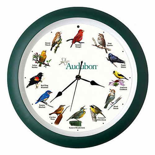 WALL CLOCKS - SINGING BIRDS WALL CLOCK - 13