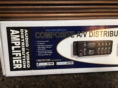 CE Composite A/V Distribution Amplifier