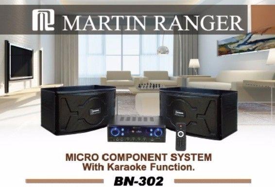 Martin Ranger BN302B  240-Watts Mini Component System