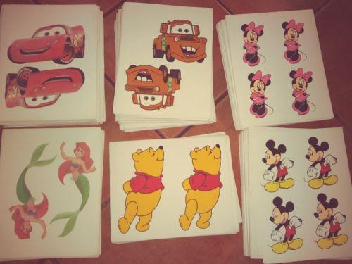 Lot of printed craft foam sheets, Disney