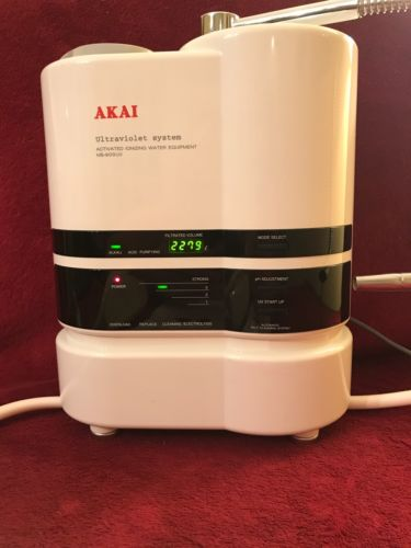 Akai MS-900UV H/HD Water Micro Filter Ultraviolet Activated Ionizing Alkaline
