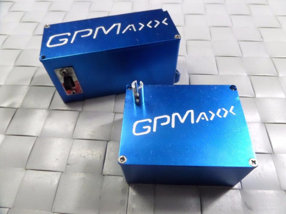 GPM aluminum battery/ receiver box Traxxas T-maxx, E-maxx truck rc car parts