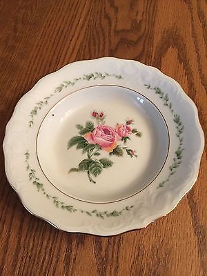 Gibson Housewares China Discontinued Pattern ~Victorian Rose~ Bowl