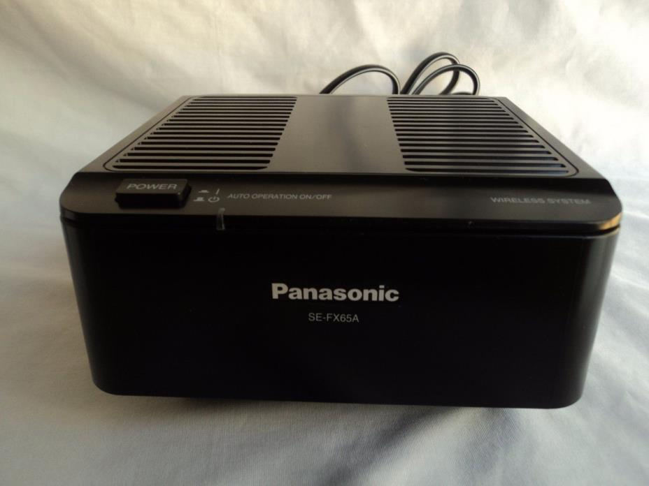 Panasonic Wireless Speaker System SE-FX65A Receiver Only