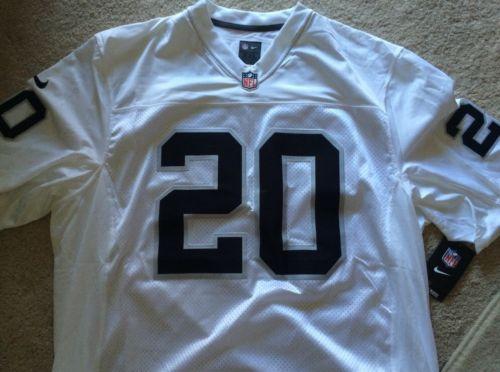 Nike NFL Oakland Raiders Football Darren McFadden #20 Limited Jersey 2XL NEW