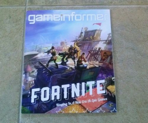 Game Informer magazine Fortnite #253 May 2014