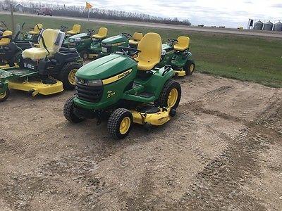 2012 John Deere X534 Garden Tractors